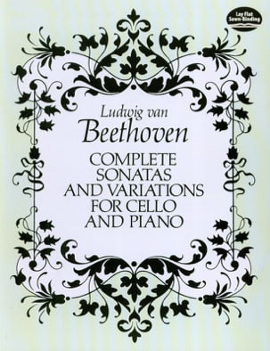 Complete sonatas and variations for cello and piano - Full Score - laflutedepan.com