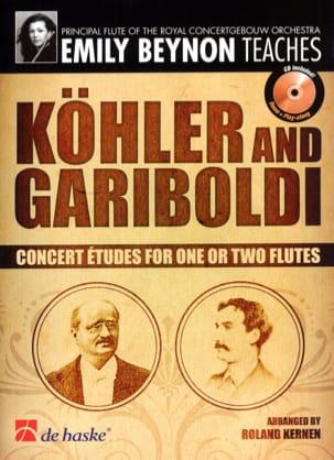 Etudes de Concert KÖHLER - GARIBOLDI Partition laflutedepan