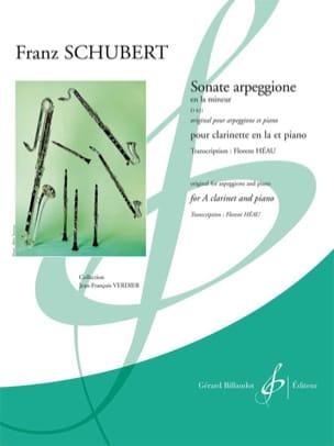 Sonate Arpeggione en la Min. D.821 Version Clarinette et Piano laflutedepan