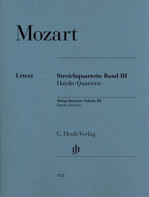 Quatuor à Cordes - Volume 3 MOZART Partition Quatuors - laflutedepan