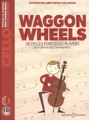 Katherine & Hugue Colledge - Waggon Wheels - Violoncelle - Partition - di-arezzo.ch