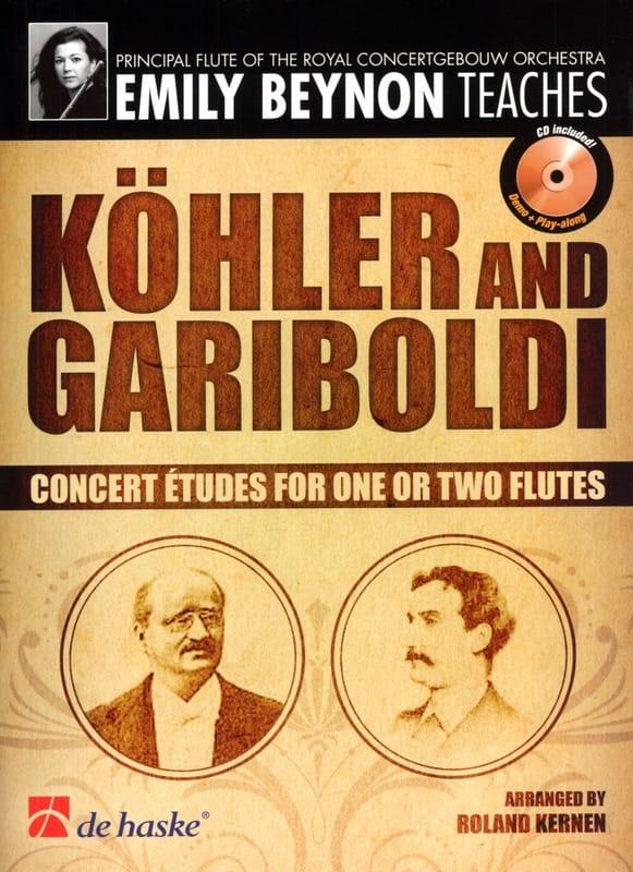 Etudes de Concert - KÖHLER - GARIBOLDI - Partition - laflutedepan.com