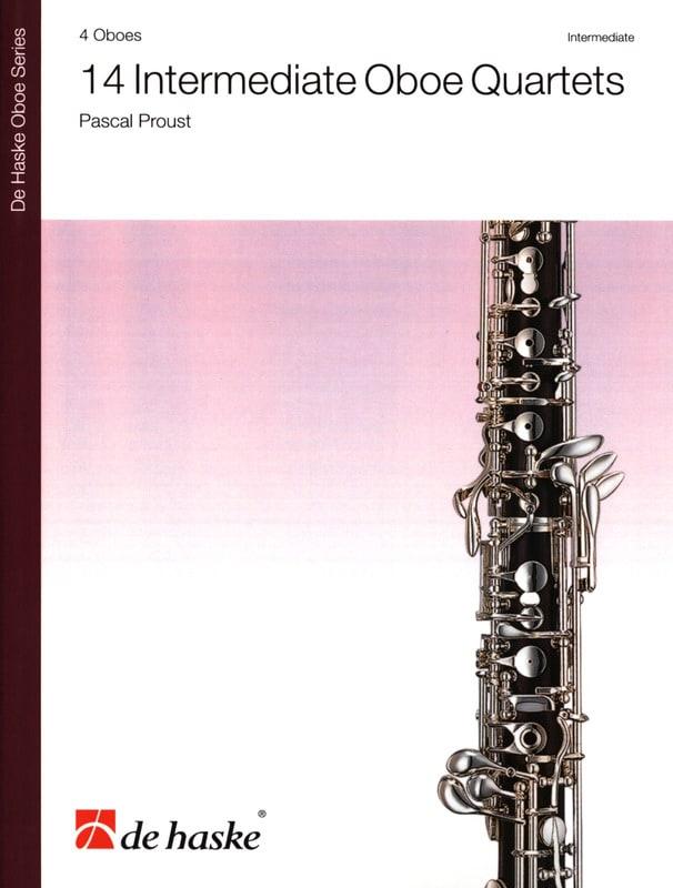 14 Intermediate Oboe Quartets - Pascal Proust - laflutedepan.com