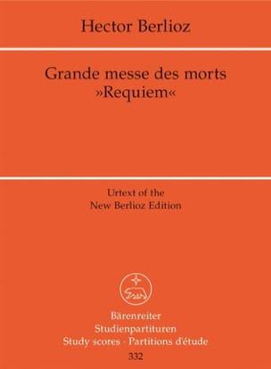 BERLIOZ - Requiem Great Mass of the Dead - Partition - di-arezzo.com
