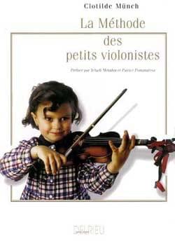 La méthode des petits violonistes - Clotilde Münch - laflutedepan.com