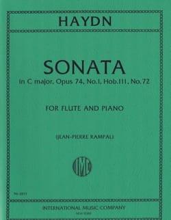 Sonate En Do Majeur HAYDN Partition Flûte traversière - laflutedepan