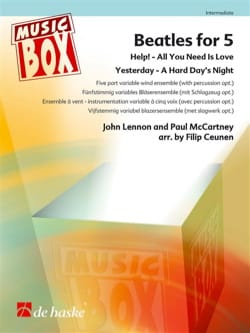 Beatles for 5 Beatles Partition ENSEMBLES - laflutedepan