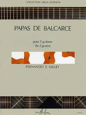 Papas de Balcarce - Fernando E. Millet - Partition - laflutedepan.com