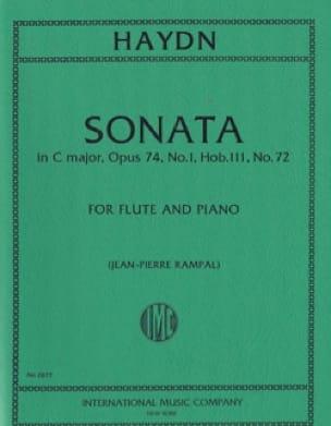 Sonate En Do Majeur - HAYDN - Partition - laflutedepan.com