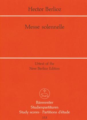 BERLIOZ - Solemn Mass - Partition - di-arezzo.com