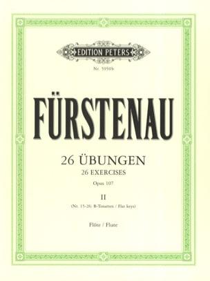 26 Übungen op. 107 - Bd. 2 Anton Bernhard Fürstenau laflutedepan