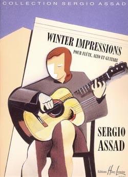 Winter impressions Sergio Assad Partition Trios - laflutedepan