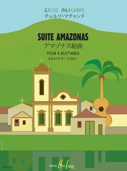 Suite Amazonas Celso Machado Partition Guitare - laflutedepan