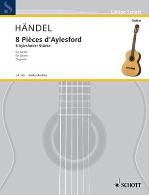 8 Aylesford Pieces - Guitare - HAENDEL - Partition - laflutedepan.com