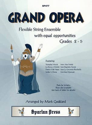 Grand Opera - Grades 2-5 Partition Quatuors - laflutedepan