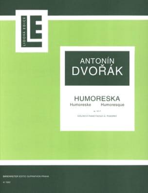 Humoreska op. 101 n° 7 DVORAK Partition Violon - laflutedepan