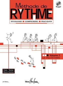 Teslar Yves / Gevrey Alexis - Rhythmusmethode - Band 3 - Partition - di-arezzo.de