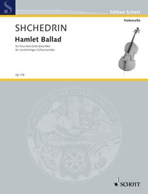 Hamlet Ballad - P/ST 4 cellos or cello ensemble laflutedepan