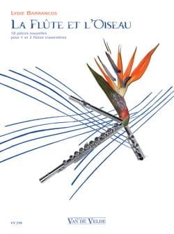 La Flûte et l' Oiseau Lydie Barrancos Partition laflutedepan