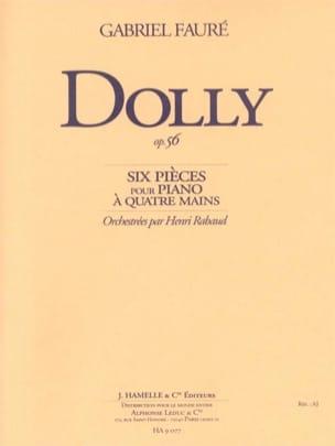 Dolly Op. 56 FAURÉ Partition Petit format - laflutedepan