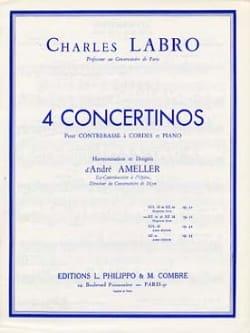 Concertino en ré mineur et ré majeur op. 31 Charles Labro laflutedepan