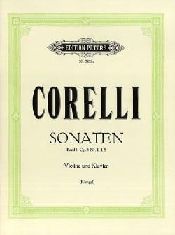 Sonates op. 5, Volume 1 n° 1, 4, 8 Klengel CORELLI laflutedepan