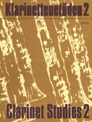 Klarinettenetüden - Bd. 2 Rudi Reski Partition laflutedepan