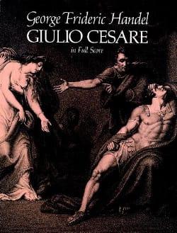 Jules César - Full Score HAENDEL Partition Grand format - laflutedepan