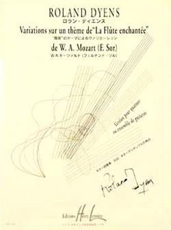Variations sur un thème de La Flûte enchantée de W. A. Mozart F. Sor laflutedepan