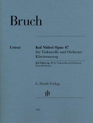 Kol Nidrei, opus 47 BRUCH Partition Violoncelle - laflutedepan