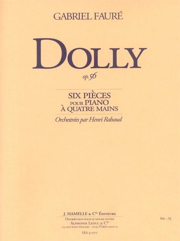 Dolly Op. 56 - FAURÉ - Partition - Petit format - laflutedepan.com