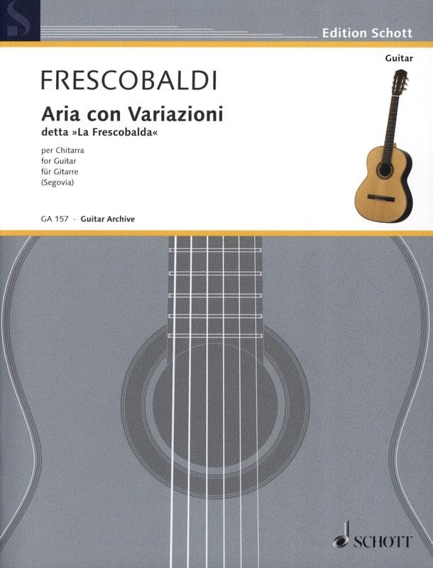 Aria con Variazioni - FRESCOBALDI - Partition - laflutedepan.com