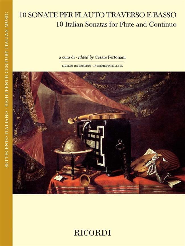10 Sonates Italiennes - Partition - laflutedepan.com