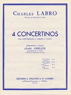 Concertino en sol majeur op. 32 Charles Labro Partition laflutedepan
