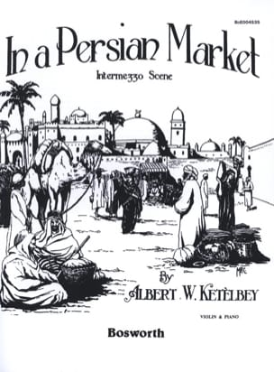 In a persian market Albert W. Ketèlbey Partition Violon - laflutedepan