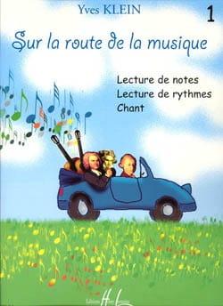 Sur la route de la musique - Volume 1 Yves Klein laflutedepan