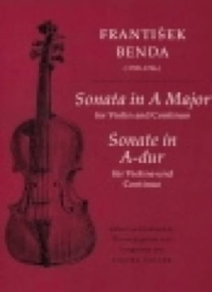 Sonata in A Major for Violin and Continuo - laflutedepan.com