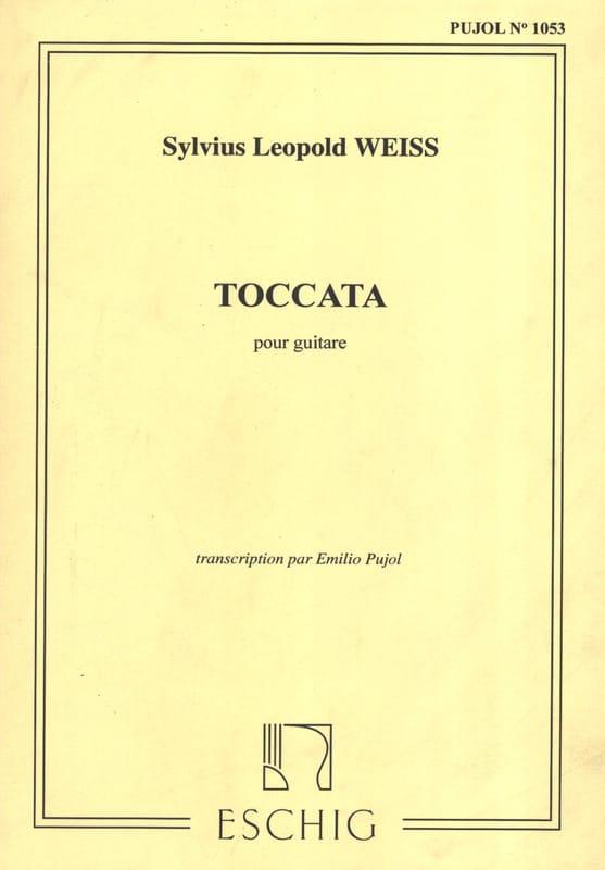 Toccata - Silvius Leopold Weiss - Partition - laflutedepan.com