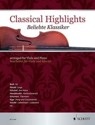Classical Highlights Partition Alto - laflutedepan