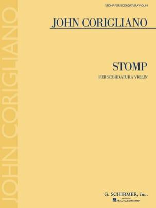 Stomp - Violon solo - John Corigliano - Partition - laflutedepan.com