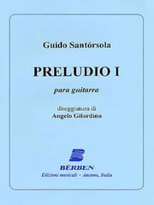 Preludio n° 1 - Guido Santorsola - Partition - laflutedepan.com