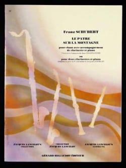 Le pâtre sur la montagne op. 129 - 2 clarinettes et piano laflutedepan