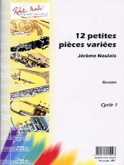 12 Petites Pièces Variées - Basson Jérôme Naulais laflutedepan