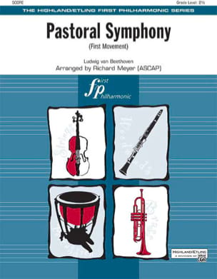 Pastoral Symphony First Movement - Score & Parts laflutedepan