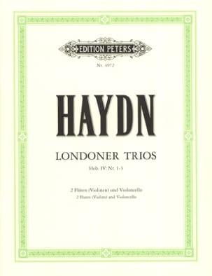 3 London Trios - 2 Flöten Violoncello Partitur + Stimmmen - laflutedepan.com