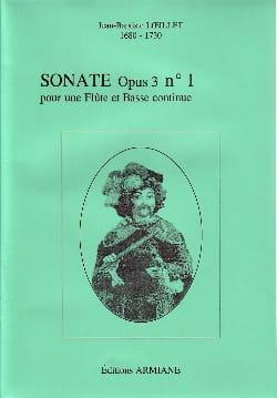 Sonate Opus 3 N° 1 LOEILLET Partition Flûte traversière - laflutedepan