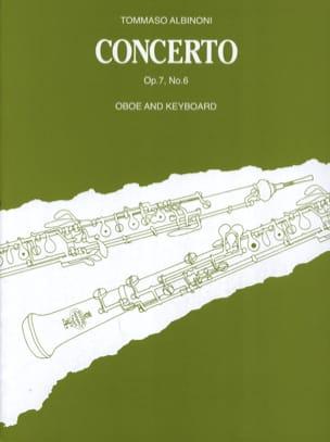 Concerto per Oboe op. 7 n° 6 ALBINONI Partition laflutedepan