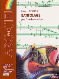 Batifolage Francis Coiteux Partition Contrebasse - laflutedepan