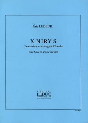 Eric Ledeuil - X Niry S - Partition - di-arezzo.es