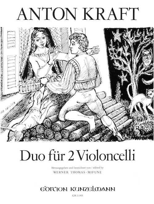 Duos für 2 Violoncello - Anton Kraft - Partition - laflutedepan.com